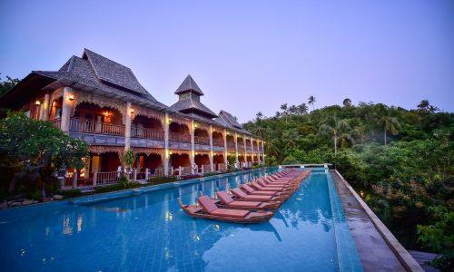 סנטייה Santhiya Resort and Spa