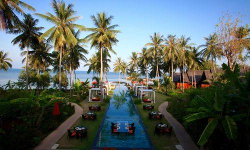 קופו קופו פנגן Kupu Kupu Phangan Beach Villas & Spa by