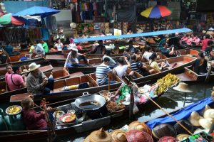 שווקים בבנגקוק