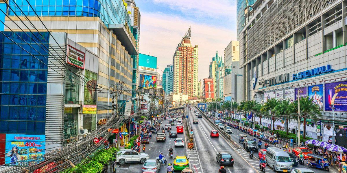 מיקום והתמצאות בבנגקוק